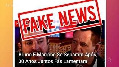 Assessoria Bruno & Marrone nega boato de separação da dupla - Fátima Bernardes comenta os assuntos que estão em alta nas redes sociais