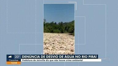 Denúncia de desvio de água no Rio Piraí - Denúncia de desvio de água no Rio Piraí