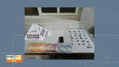 Menor é detido com drogas em Montes Claros - Ocorrência foi na Vila Mauricéia.