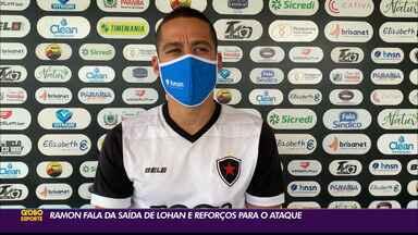 Após saída de Lohan, Botafogo-PB procura um novo camisa 9 - Ramon falou sobre a saída de Lohan e sobre um possível deslocamento para fazer a mesma função que o seu ex-companheiro