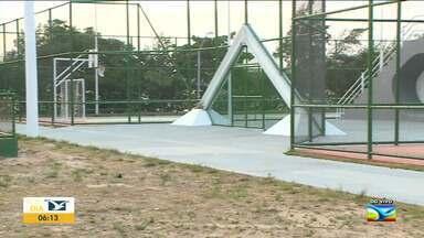 Quadras e praças esportivas dos parques voltam a funcionar em São Luís - Quadras e praças esportivas dos parques Rangedor, Itapiracó e Lagoa da Jansen voltam a funcionar com sistema de agendamento.