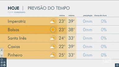 Veja as variações das temperaturas no Maranhão - Confira a previsão do tempo nesta sexta-feira (2) em São Luís e também no interior do estado.