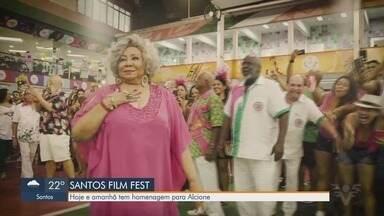 Santos Film Fest continua com muitas atrações online - Alcione faz convite especial.