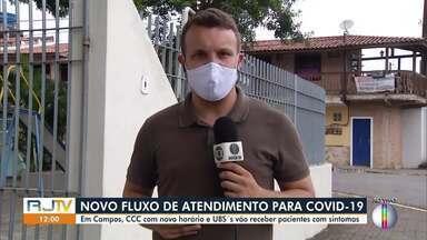 Centro de Controle e Combate ao Coronavírus, em Campos, tem novo horário de funcionamento - Além disso, UBS's vão receber pacientes com sintomas de Covid-19.