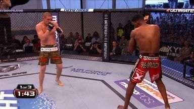 UFC Kennedy x Natal - Seth Baczynski x Neil Magny - Luta entre Seth Baczynski (US) x Neil Magny (US), válida pelo UFC Kennedy x Natal - Peso Meio Médio, em 06/11/2013