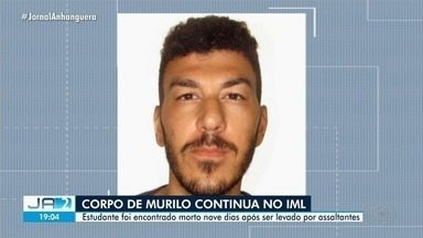 Corpo de estudante encontrado morto segue no IML, em Goiânia - Estudante foi encontrado morto nove dias após ser levado por assaltantes.