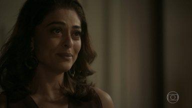 Carolina deseja boa viagem a Arthur - Os dois se despedem com emoção