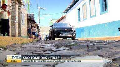 Justiça determina reabertura de São Tomé das Letras para turistas - A cidade é a única do Sul de MG sem Covid-19
