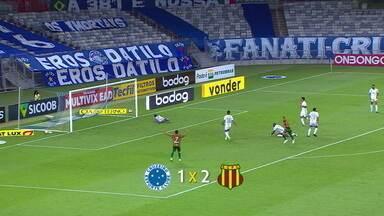 Cruzeiro perde para o Sampaio Corrêa e Fabio desabafa - Cruzeiro perde para o Sampaio Corrêa e Fabio desabafa