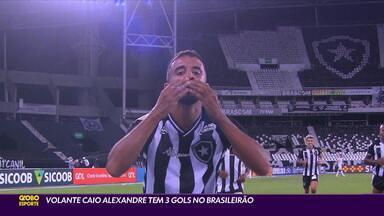 Volante Caio Alexandre tem três gols no Brasileirão - Volante Caio Alexandre tem três gols no Brasileirão