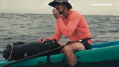 Desafios Em Alto Mar - Diogo Guerreiro e Tiago Azzi, percebendo que não conseguirão chegar ao destino estabelecido, adaptam seus planos originais e seguem para uma outra ilha mais ao norte. Após 38 horas remando, conseguem finalizar a empreitada.