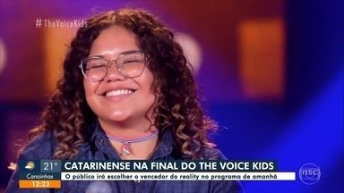 Catarinense na Final do The Voice Kids - undefined