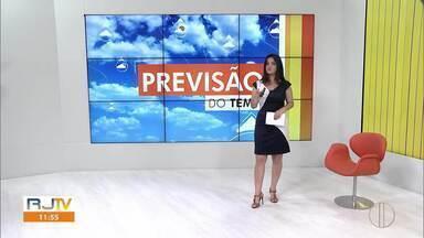 Confira como está o tempo no interior do Rio neste sábado - Fim de semana é de tempo fechado.