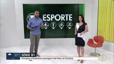 Campos e Goytacaz amargam má fase no Campeonato Carioca - Penúltima fase da primeira rodada será disputada neste fim de semana.