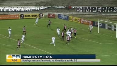 Veja como foi a vitória do Botafogo-PB sobre o Ferroviário no Almeidão - Belo venceu a primeira partida em casa na Série C de 2020 e deixou a zona de rebaixamento do Grupo A