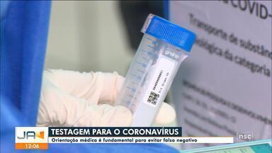 Especialista alerta que testagem pode indicar falso negativo para coronavírus - Especialista alerta que testagem pode indicar falso negativo para coronavírus