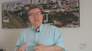 Eleições 2020: Camarinha fala sobre as propostas para manejo do lixo - Veja a resposta dos candidatos sobre como pretendem resolver o problema do manejo do lixo na cidade.