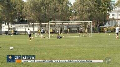 Ponte Preta busca reabilitação diante do Náutico - Macaca encara time treinado por Gilson Kleina, ex-técnico da Ponte Preta.