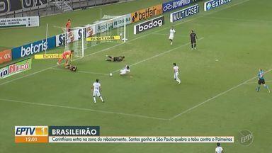 Confira os gols do Campeonato Brasileiro neste fim de semana - Corinthians foi derrotado pelo Ceará e Santos venceu o Grêmio em casa.