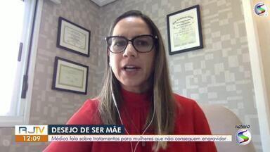 Médica fala sobre tratamentos para mulheres que não conseguem engravidar - Especialista explica quais métodos podem auxiliar quem ainda deseja ser mamãe.