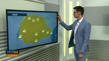 Semana começa ensolarada no Paraná - No oeste tem previsão de chuva pro meio da semana.