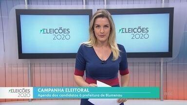 Eleições 2020: Acompanhe a agenda dos candidatos à prefeitura de Blumenau neste dia 12 - Eleições 2020: Acompanhe a agenda dos candidatos à prefeitura de Blumenau neste dia 12