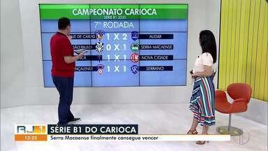 Confira como foi a rodada deste fim de semana da Série B1 - Em rodada recheada de empates, Goytacaz e Serra Macaense venceram seus jogos.