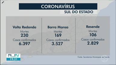 RJ2 atualiza os casos de coronavírus nas cidades da região - Angra dos Reis registou mais uma morte por Covid-19 nesta segunda.