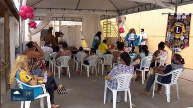 Ação social oferta exames para mulheres - Ação social oferta exames para mulheres.