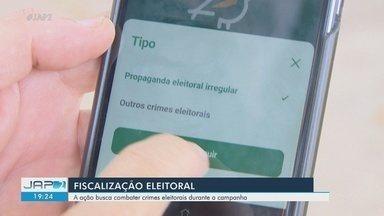 Fiscalização do TRE combate crimes eleitorais durante a campanha no Amapá - Fiscalização do TRE combate crimes eleitorais durante a campanha no Amapá