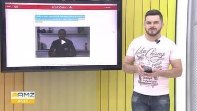 Veja os destaques do G1 Rondônia - Jonatas Boni traz as informações.