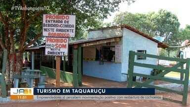 Empreendedores do turismo em Taquaruçu têm boa expectativa em reabertura de cachoeiras - Empreendedores do turismo em Taquaruçu têm boa expectativa em reabertura de cachoeiras