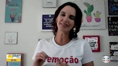 'Cuidar do professor é cuidar da humanidade', diz educadora - Luciana Araújo afirma que o professor é o maior agente de transformação social.