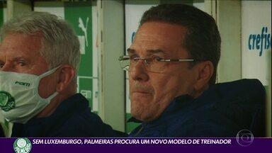 Sem Luxemburgo, Palmeiras procura um novo modelo de treinador - Sem Luxemburgo, Palmeiras procura um novo modelo de treinador