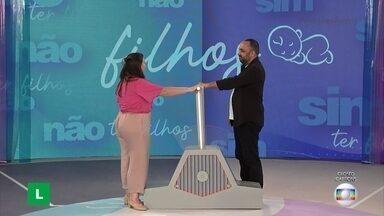 Nathália e Diego revelam decisão para Angélica - Ter ou não ter filhos?
