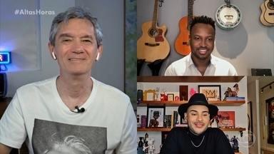 Thiaguinho e Hugo Gloss falam sobre o lado bom e ruim das redes sociais - Os dois contam como lidam com fake news