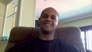 Artista plástico Crânio fala sobre a reabertura dos espaços culturais de São Paulo - Com a reabertura dos espaços culturais, que estavam fechados por causa do coronavírus, o artista plástico Crânio afirmou que sentiu algo como se fosse o nascimento de um filho. Ele também falou dos efeitos da pandemia nos seus trabalhos.