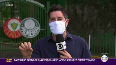 Palmeiras se prepara para jogo da Libertadores e pode ter técnico novo - Palmeiras se prepara para jogo da Libertadores e pode ter técnico novo