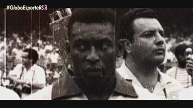 Globo Esporte RS conta nesta semana a ligação de Pelé com o Rio Grande do Sul - Reportagens são em homenagem ao aniversário de 80 anos do rei Pelé.