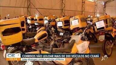 Correios vão leiloar 211 veículos no Ceará - Saiba mais no g1.com.br/ce