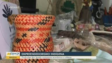 Empreendedorismo: Indígenas garantem renda com venda de produtos feitos nas aldeias - Produções tem levado autonomia econômica as aldeias.
