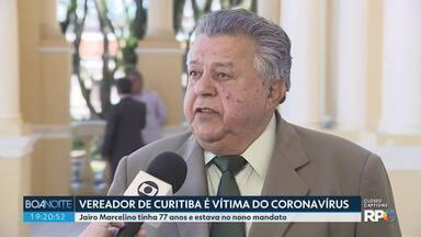 Vereador de Curitiba, Jairo Marcelino, morre vítima do coronavírus - Ele tinha 77 anos e era o vereador que estava há mais tempo na Câmara Municipal de Curitiba.