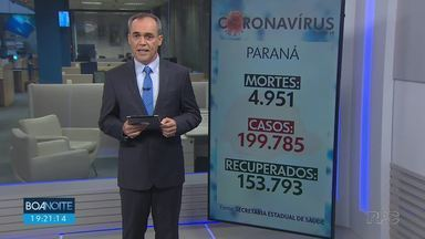 Paraná registra mais 62 mortes por coronavírus - Em Curitiba, mais quatro óbitos foram registrados pela prefeitura.