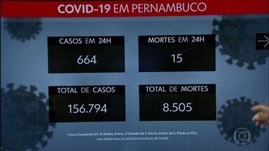 Governo confirma mais 664 casos do novo coronavírus e 15 mortes - Dados foram divulgados nesta terça (20), pelo estado