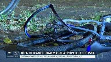 Polícia identifica homem que atropelou e matou ciclista na W5 Norte - O acidente foi no último dia 10. O jovem, que não teve a identidade revelada, se apresentou na delegacia, mas ficou em silêncio.