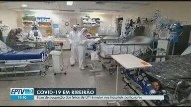 Taxa de ocupação dos leitos de UTI é maior nos hospitais particulares de Ribeirão Preto - Índice nos hospitais particulares é de 54,84%, enquanto nos públicos é de 40,68%.