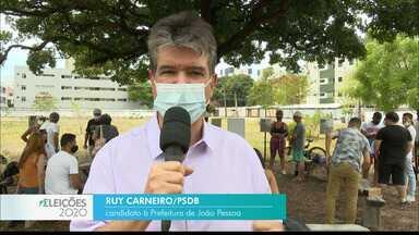 Veja a agenda de campanha de Ruy Carneiro nesta terça-feira - Candidato do PSDB à prefeitura de João Pessoa.