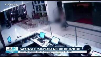 Paraense é vítima de estupro em hotel no Rio de Janeiro - Paraense é vítima de estupro em hotel no Rio de Janeiro