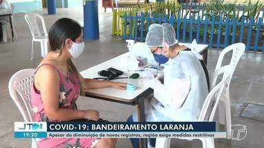 Covid-19: bandeiramento laranja da região requer medidas mais restritivas - Região tem registrado queda no número de novos casos.