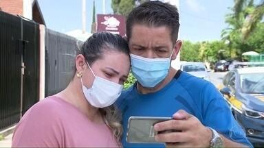 Mulher atacada por assaltante conheceu hoje o homem que ajudou a salvá-la - Motorista de aplicativo foi deixada desacordada no acostamento de uma rodovia do Paraná.